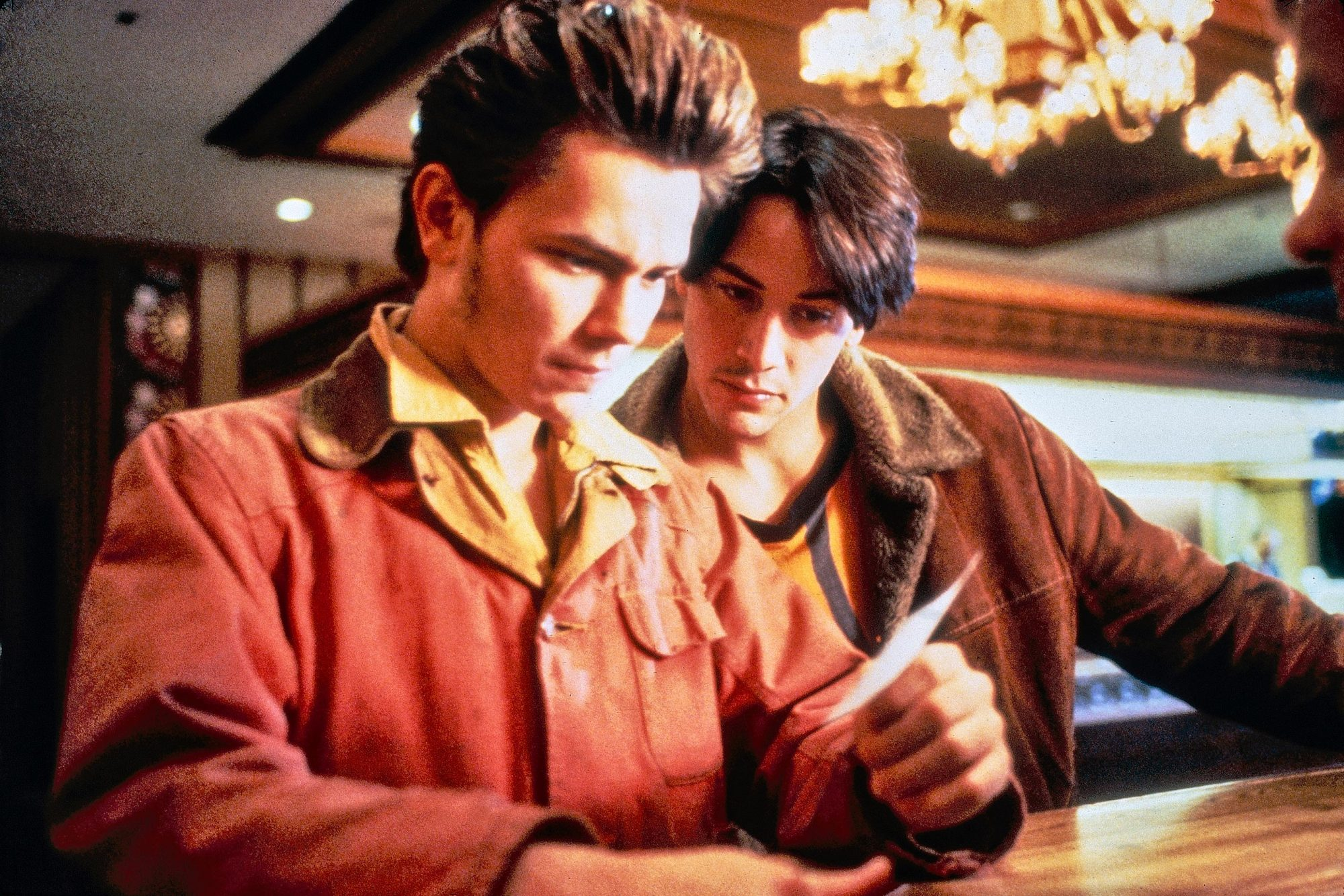 My Own Private Idaho (1991)River Phoenix (L) and Keanu Reeves
