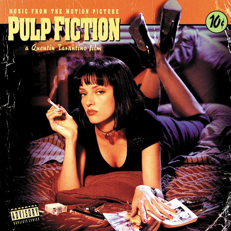 Pulp FictionMovie Soundtrack Album Cover