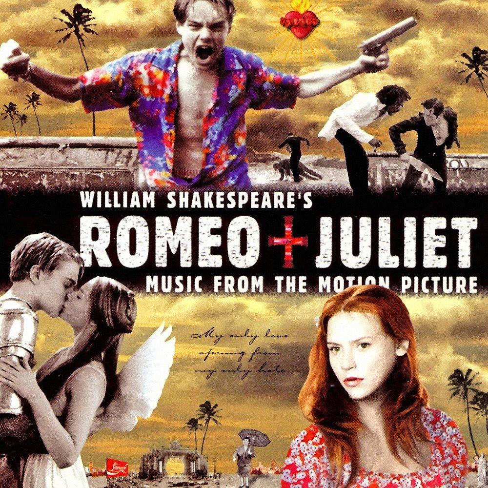 Romeo + JulietMovie Soundtrack Album Cover