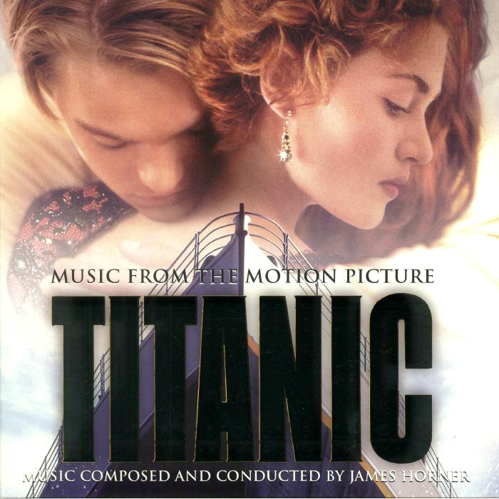 TitanicMovie Soundtrack Album Cover