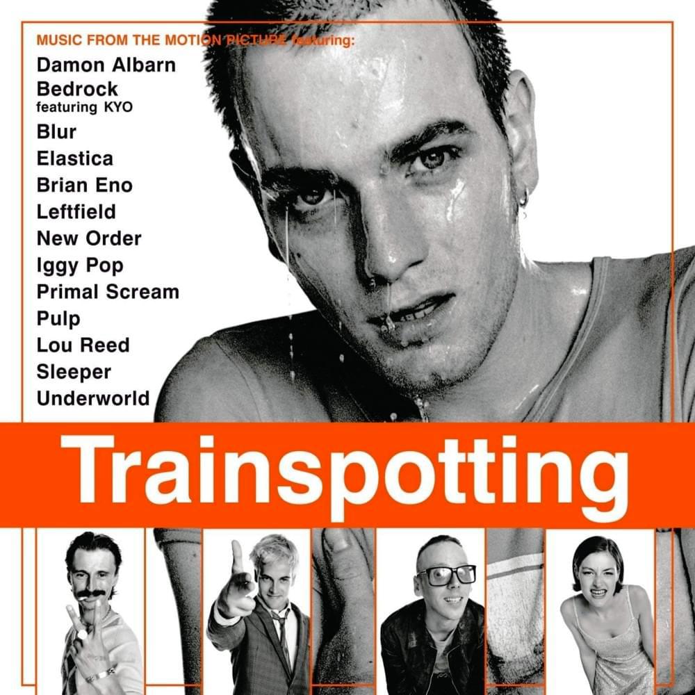 TrainspottingMovie Soundtrack Album Cover