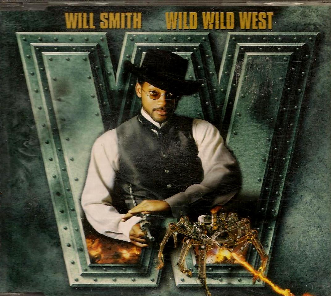 Wild Wild WestMovie Soundtrack Album Cover