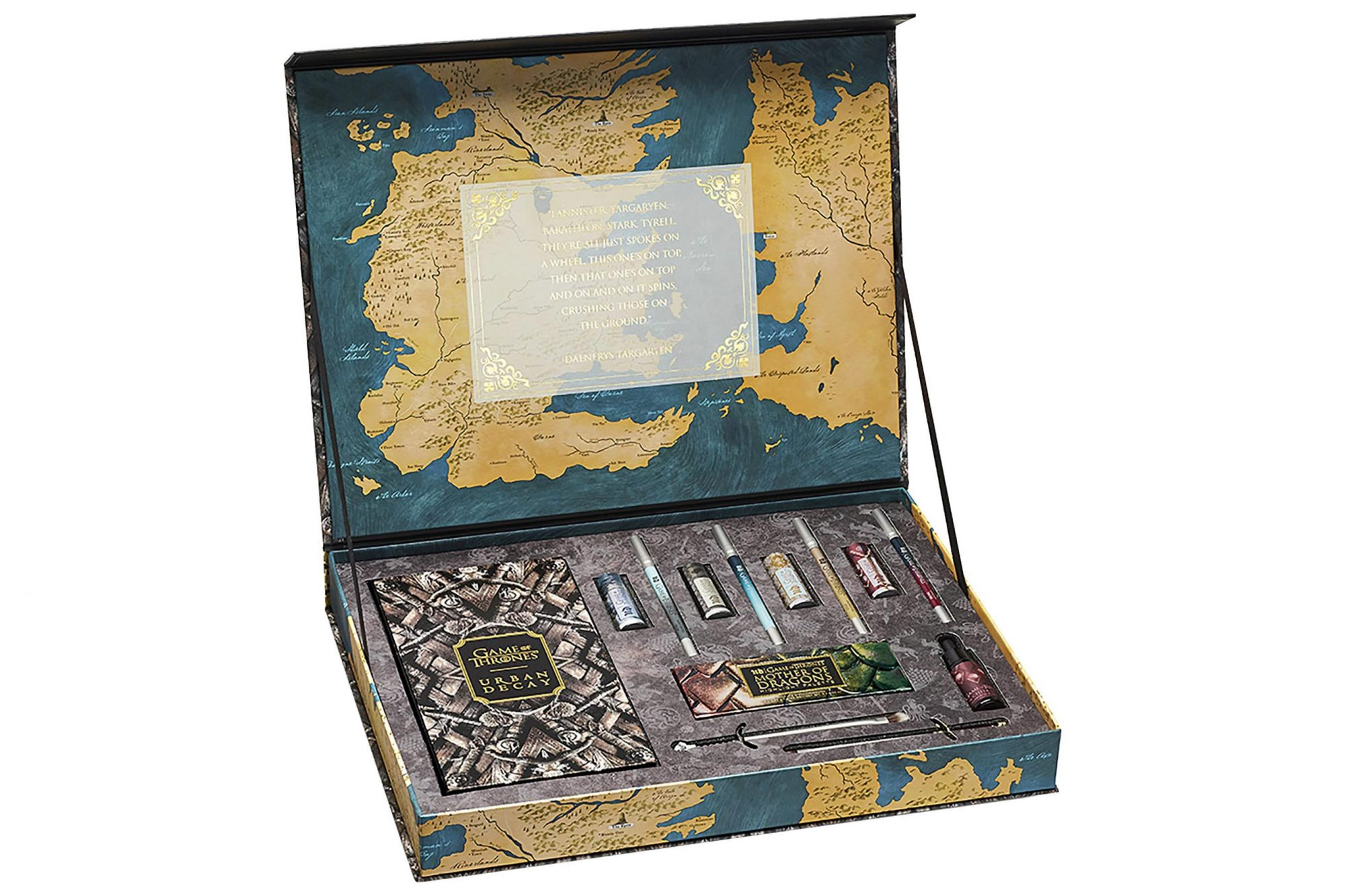 Urban Decay Game of Thrones Vault