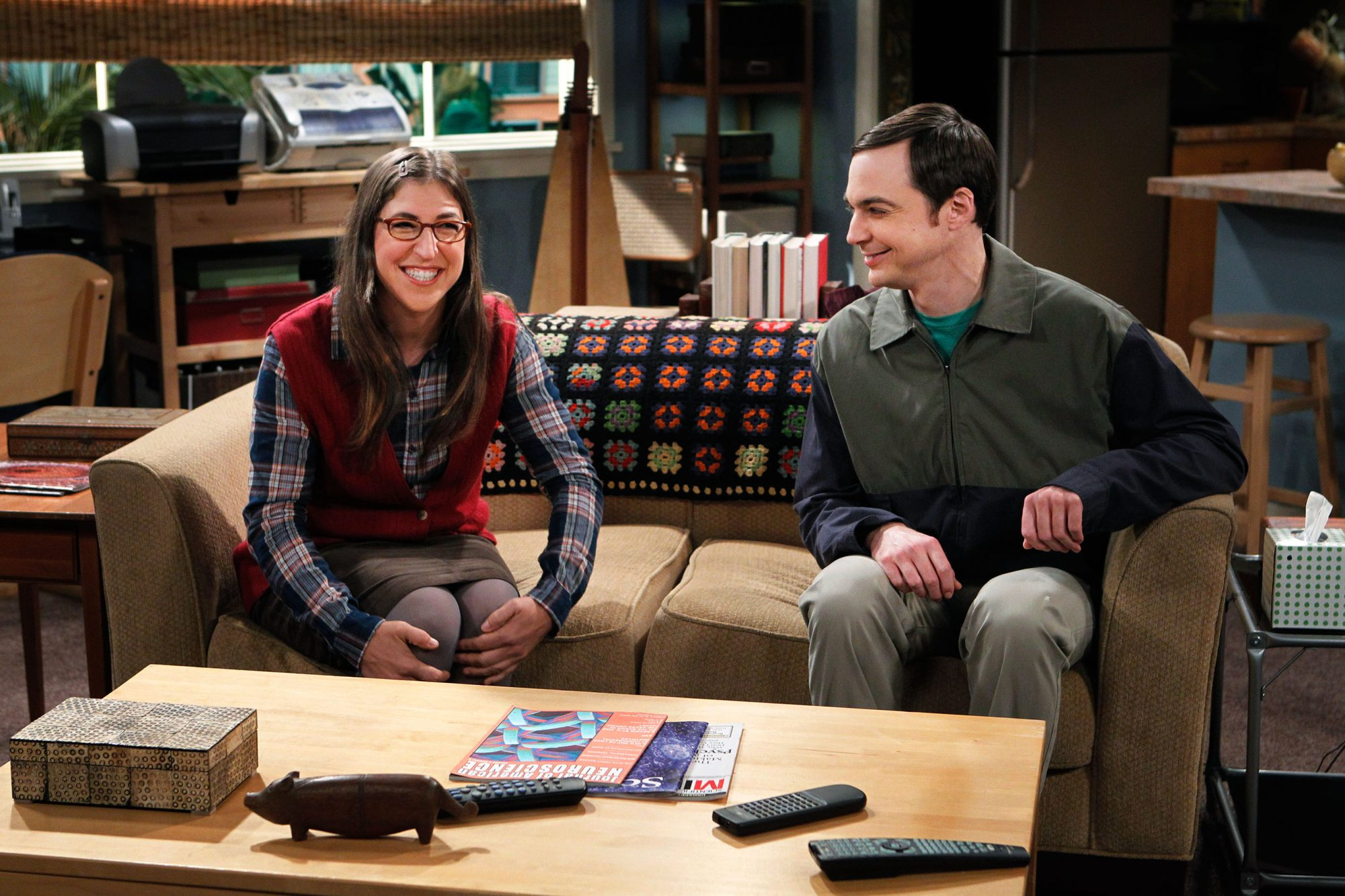 """The Rhinitis Revelation"" -- Coverage of CBS' THE BIG BANG THEORY scheduled to air on the CBS Television Network. Photo: SONJA FLEMMING/CBS ©2011 CBS BROADCASTING INC. All Rights Reserved."