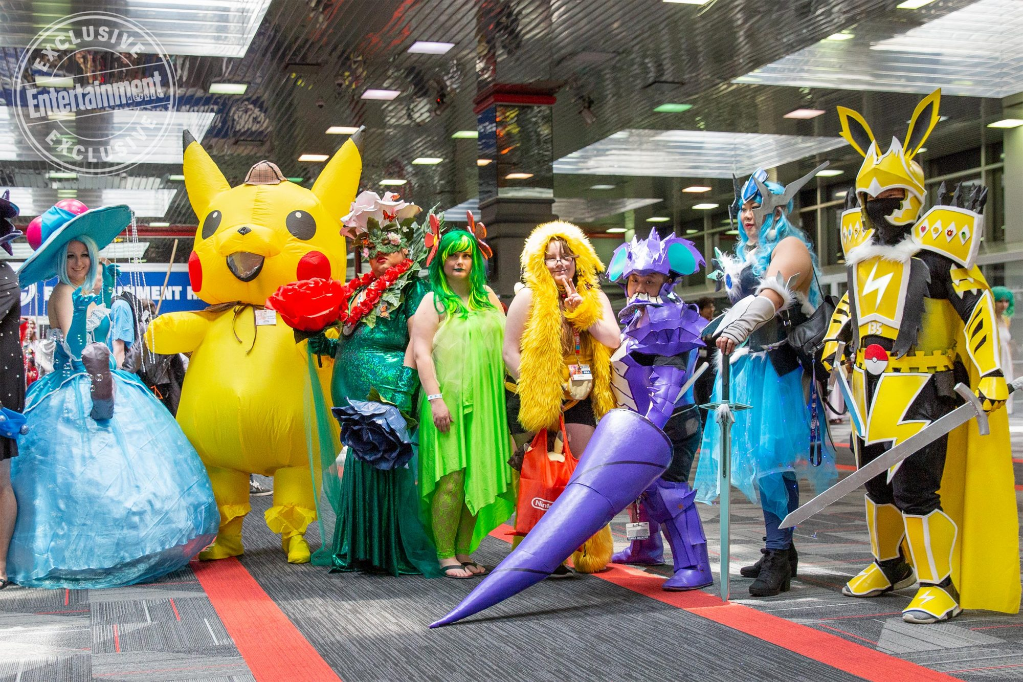 Anime Central 2019 cosplayers photographed on May 18th and 19th in Chicago, IL by Chris Cosgrove for Entertainment Weekly. -- Pictured: Pokemon cosplayers