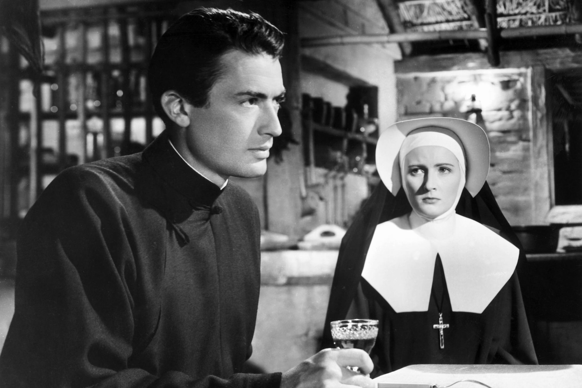 Father Francis Chisholm (Gregory Peck) in The Keys of the Kingdom
