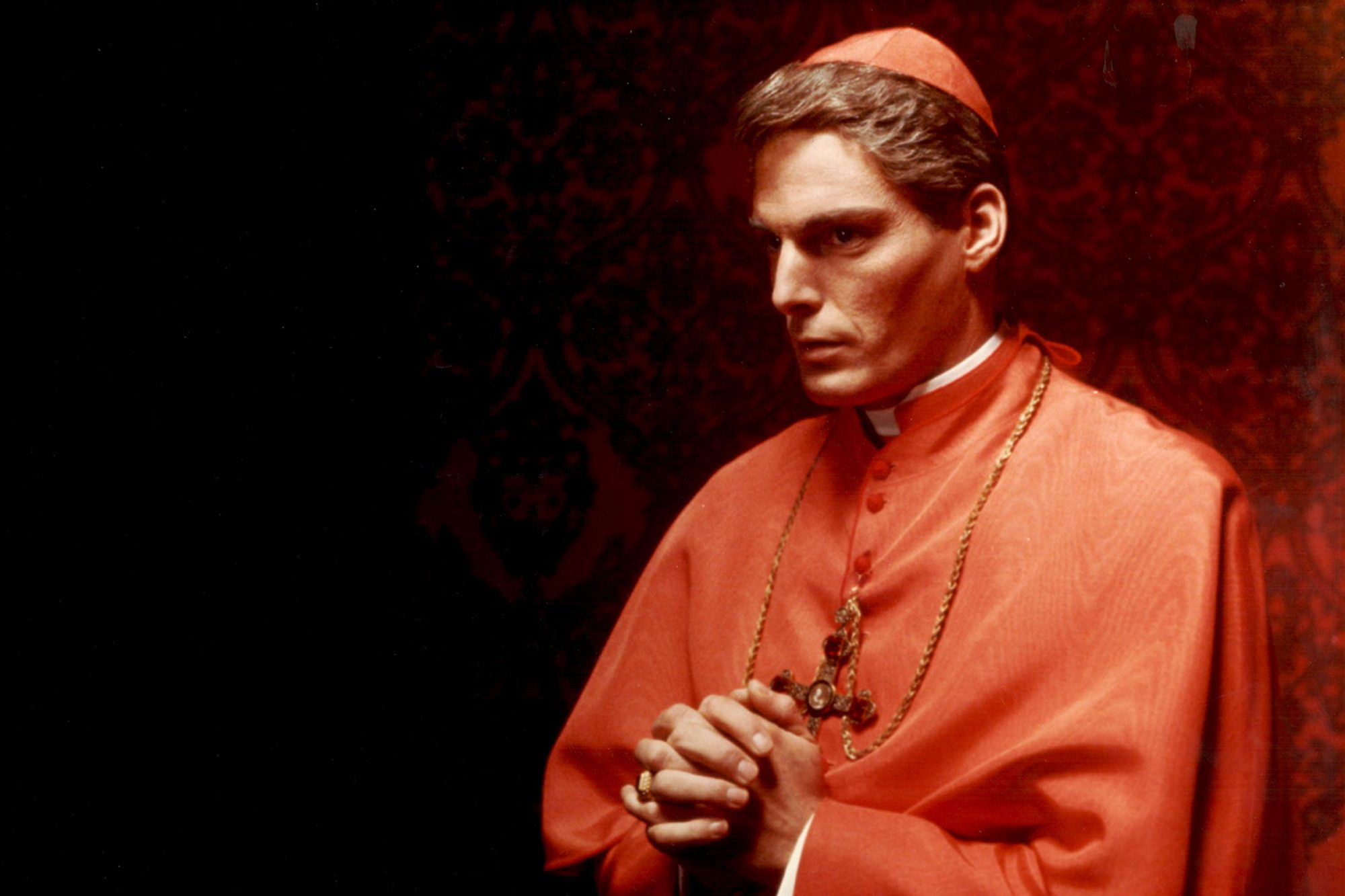 Father John Flaherty (Christopher Reeve) in Monsignor