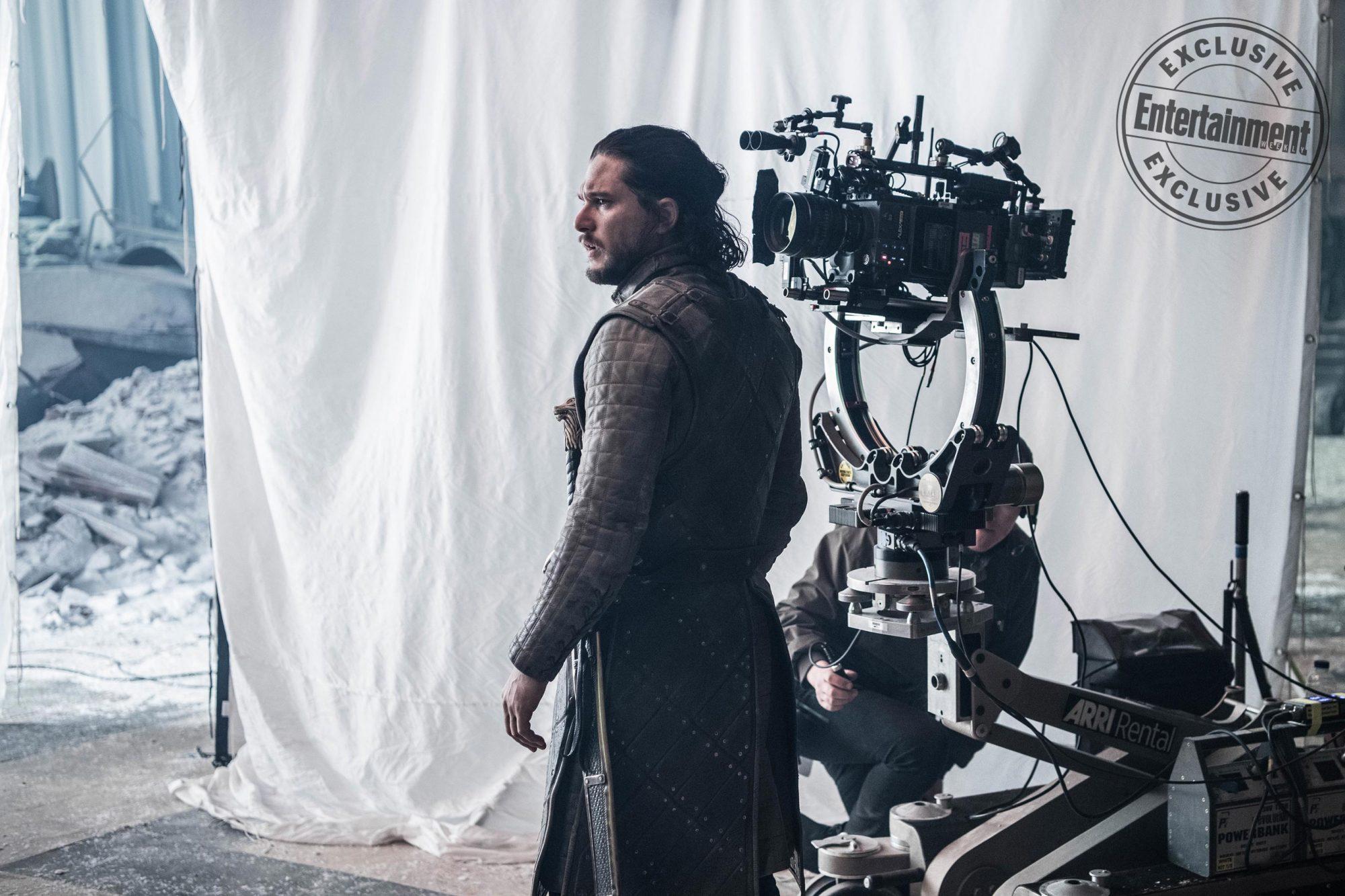 Game of ThronesBTSKit Harrington