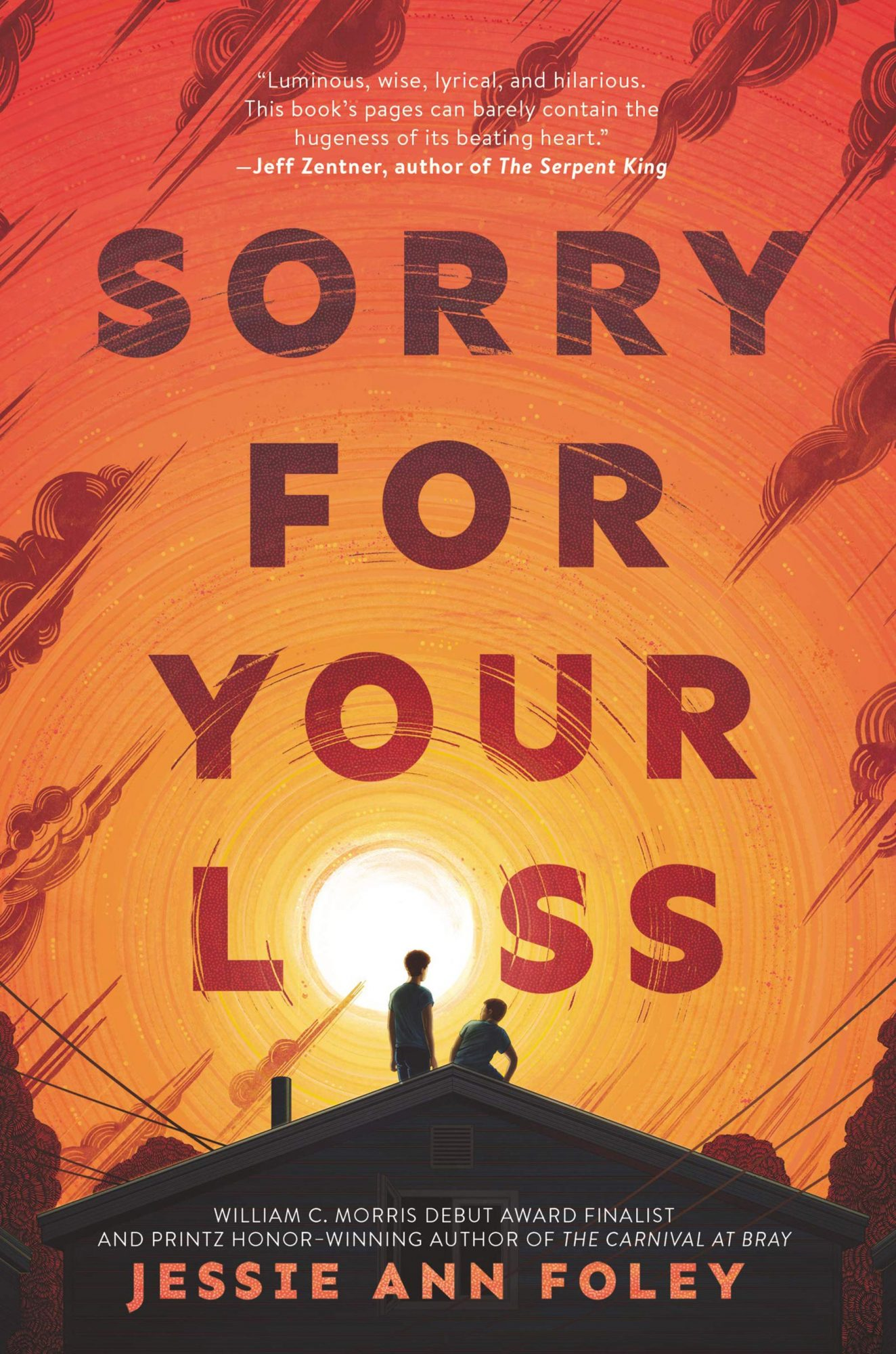 Sorry for Your Loss by Jessie Ann FoleyPublisher: HarperTeen