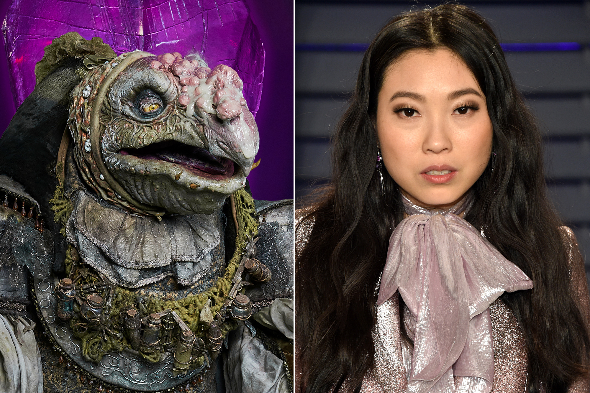 Awkwafina as The Collector