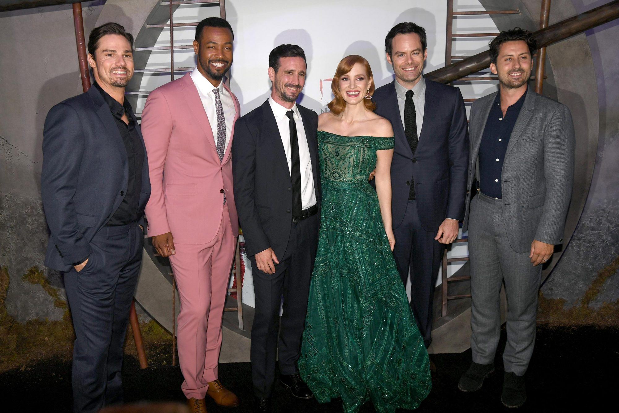 It Chapter Two stars float to the film's premiere