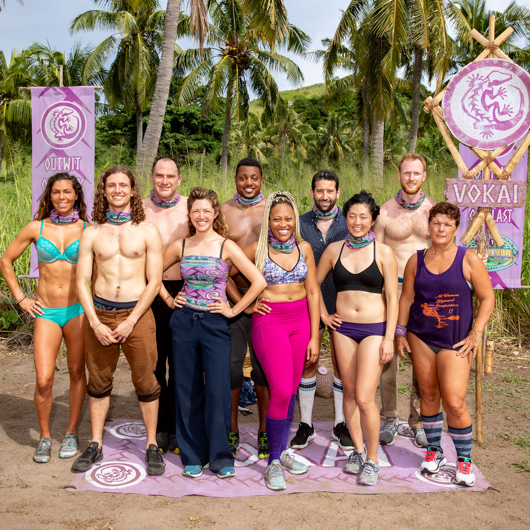 The Vokai tribe of Survivor: Island of the Idols
