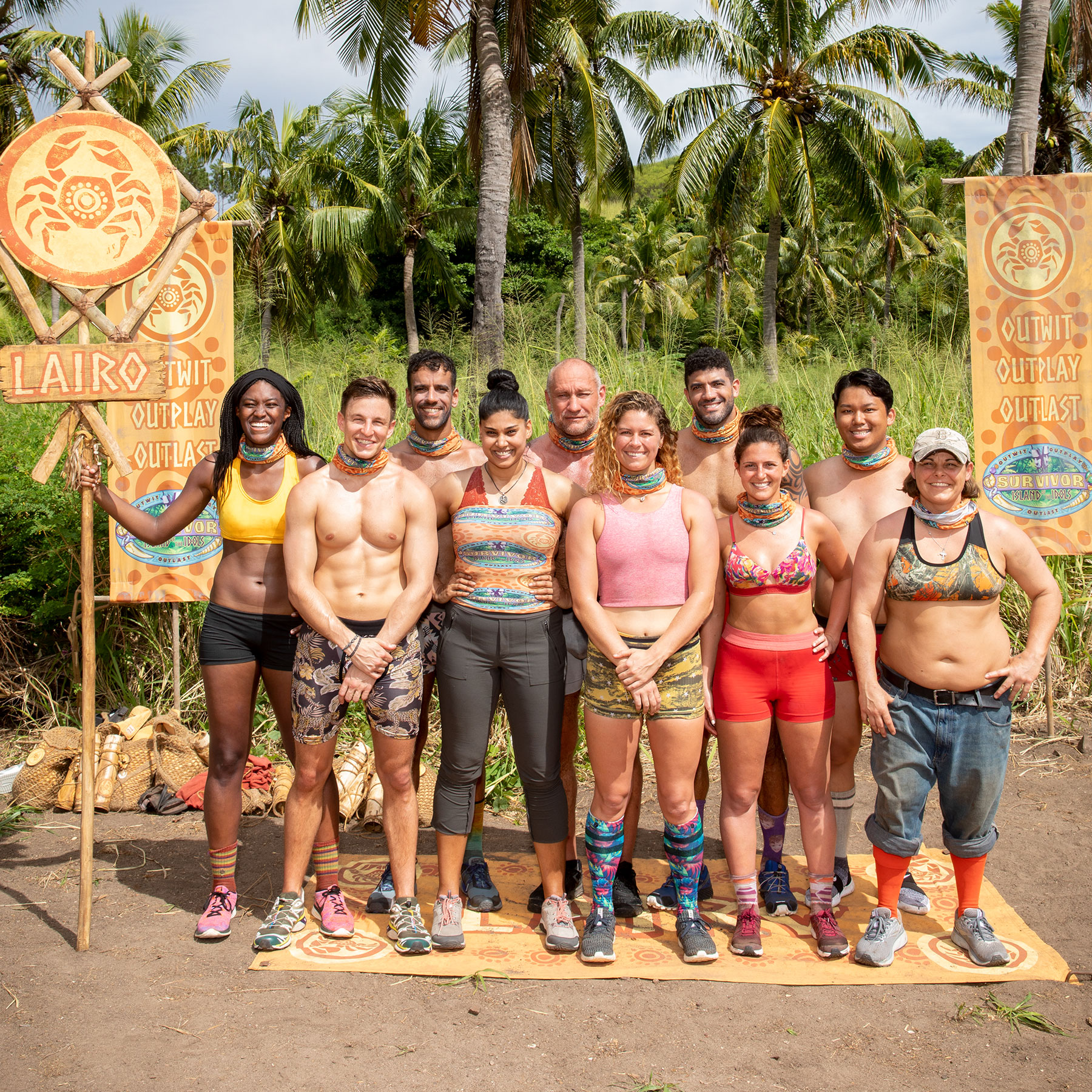 The Lairo tribe of Survivor: Island of the Idols