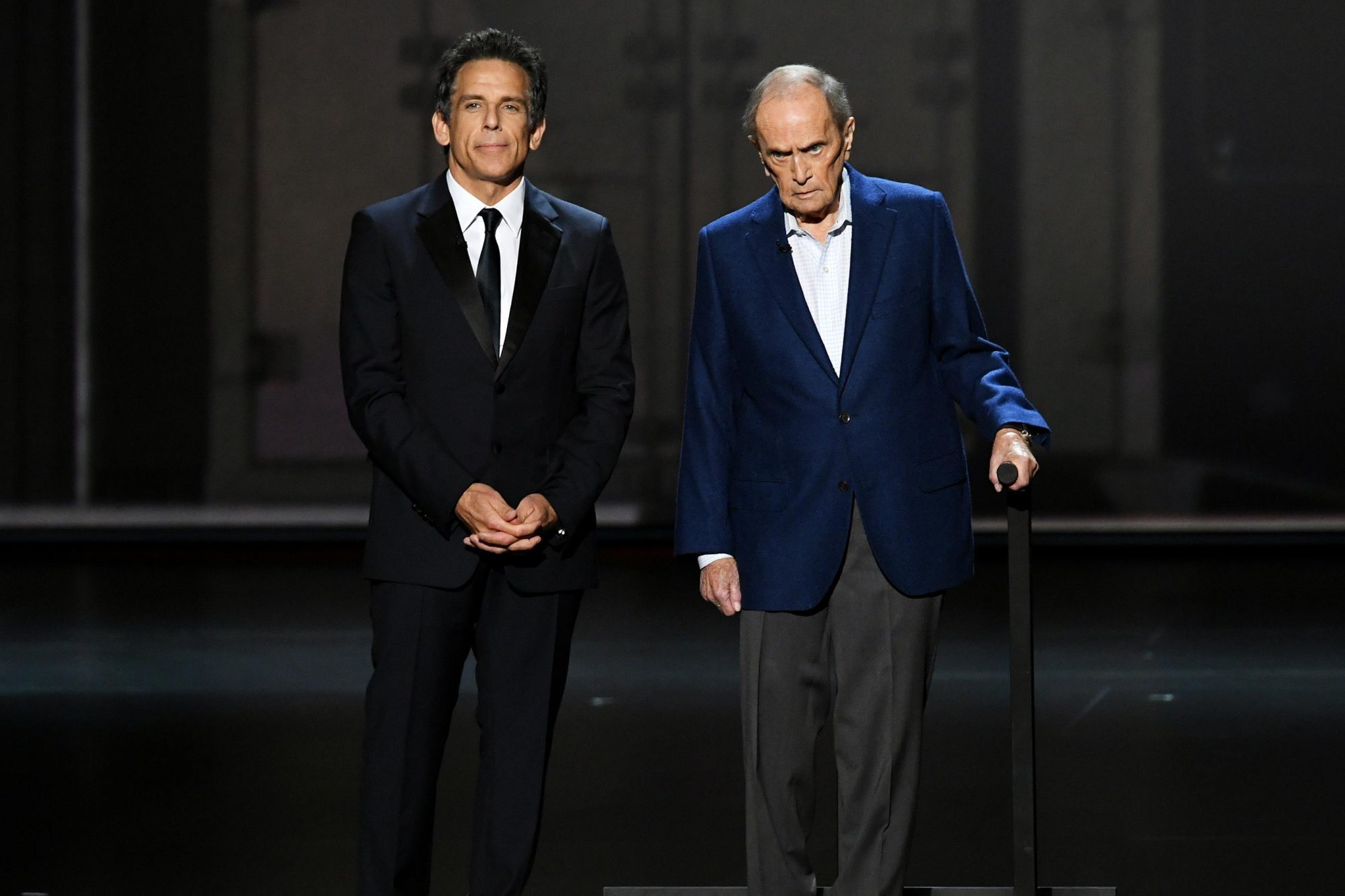 Ben Stiller and Bob Newhart