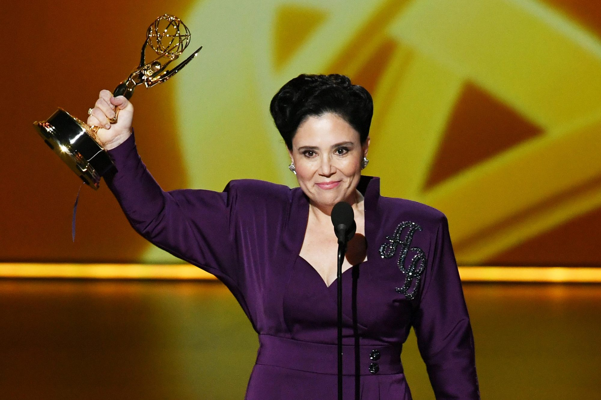 Alex Borstein's acceptance speech