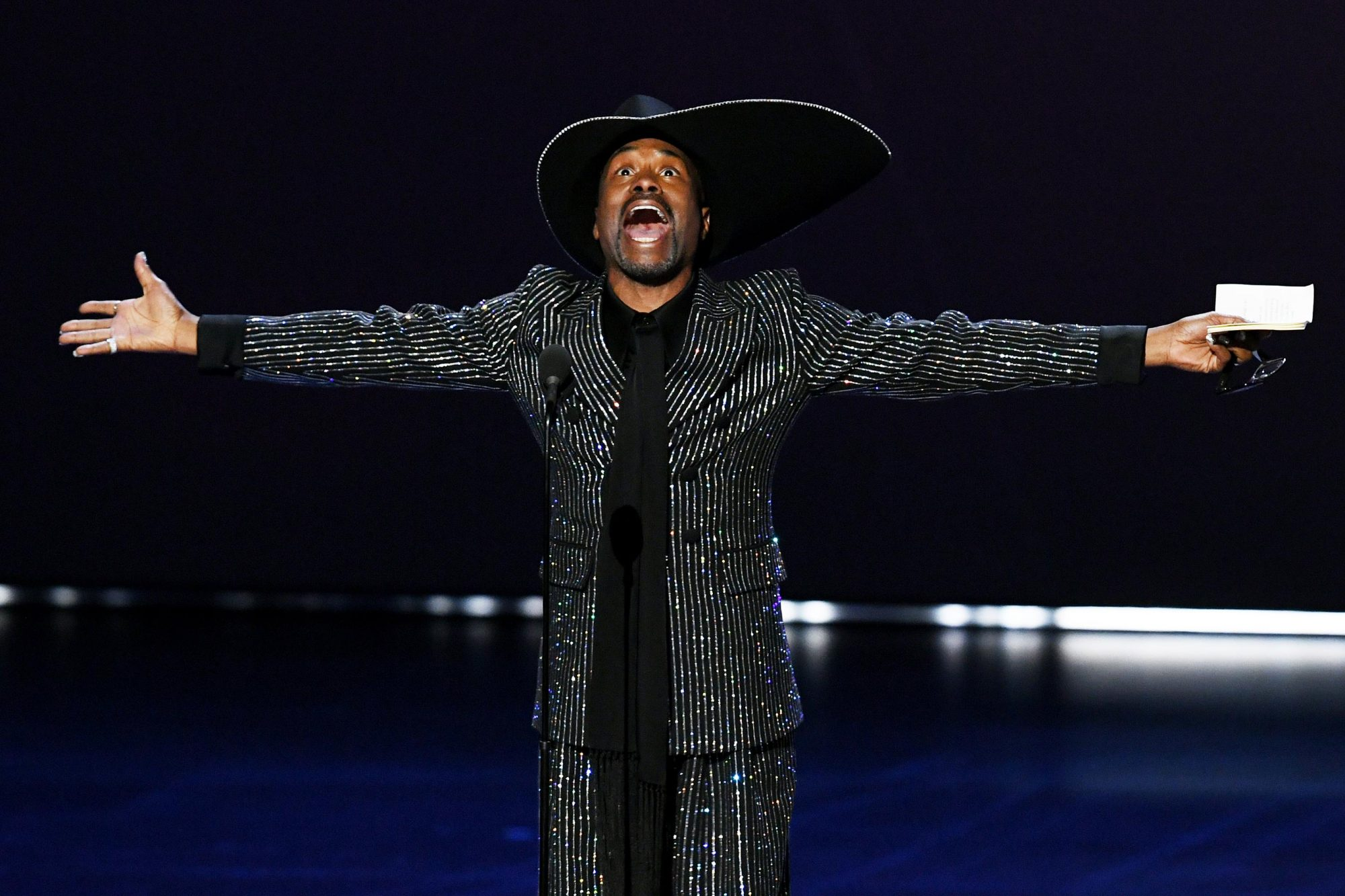Billy Porter celebrates love y'all
