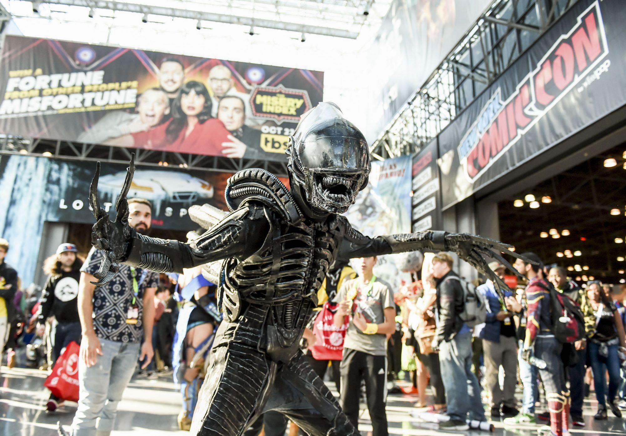 New York Comic Con - Day 3