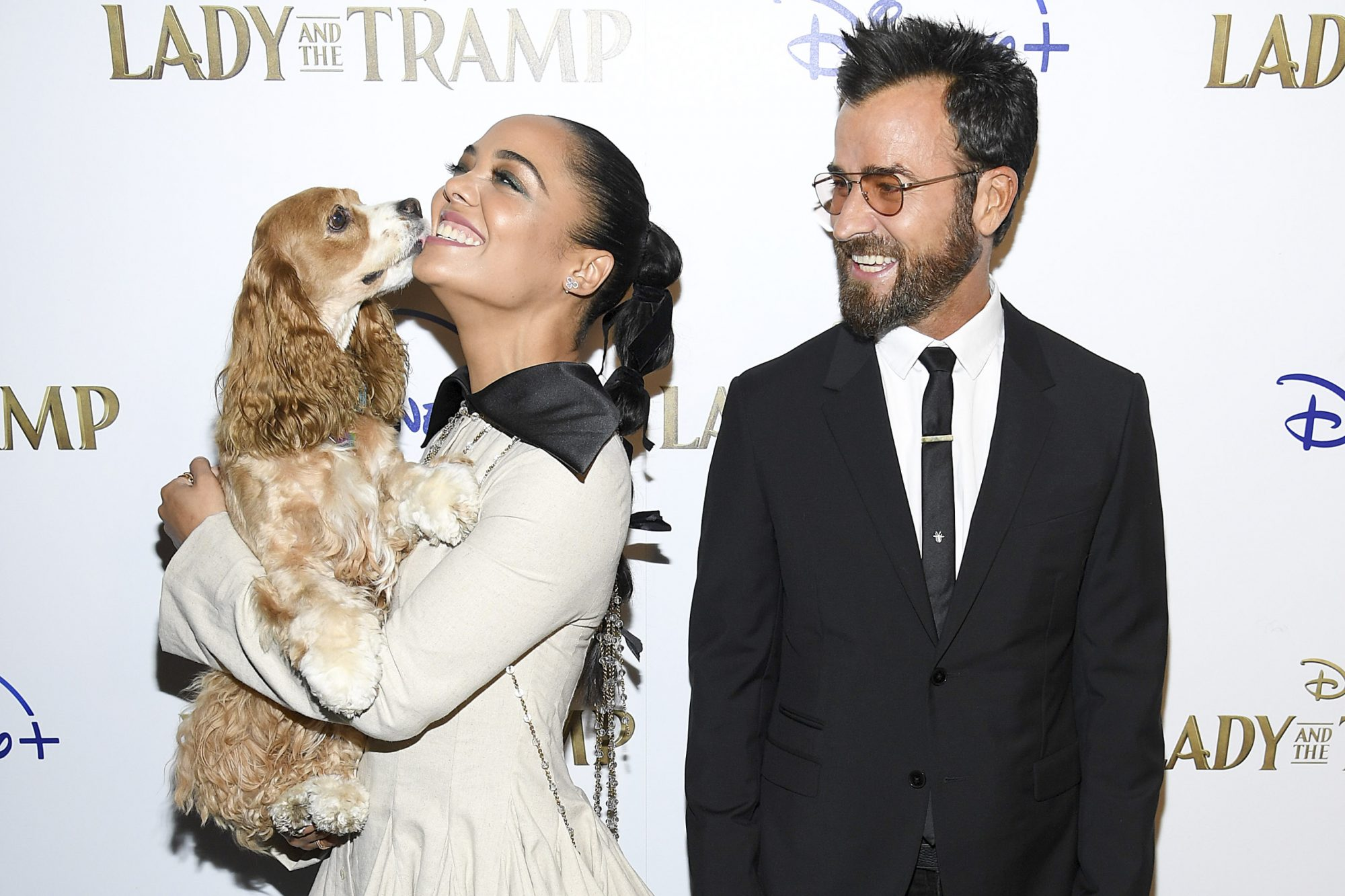 """Cinema Society Hosts Special Screening Of Disney+'s """"Lady And The Tramp"""" - Red Carpet"""