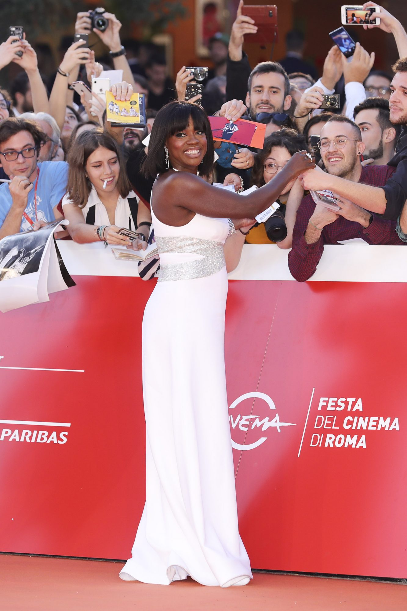 Viola Davis Red Carpet - 14th Rome Film Fest 2019