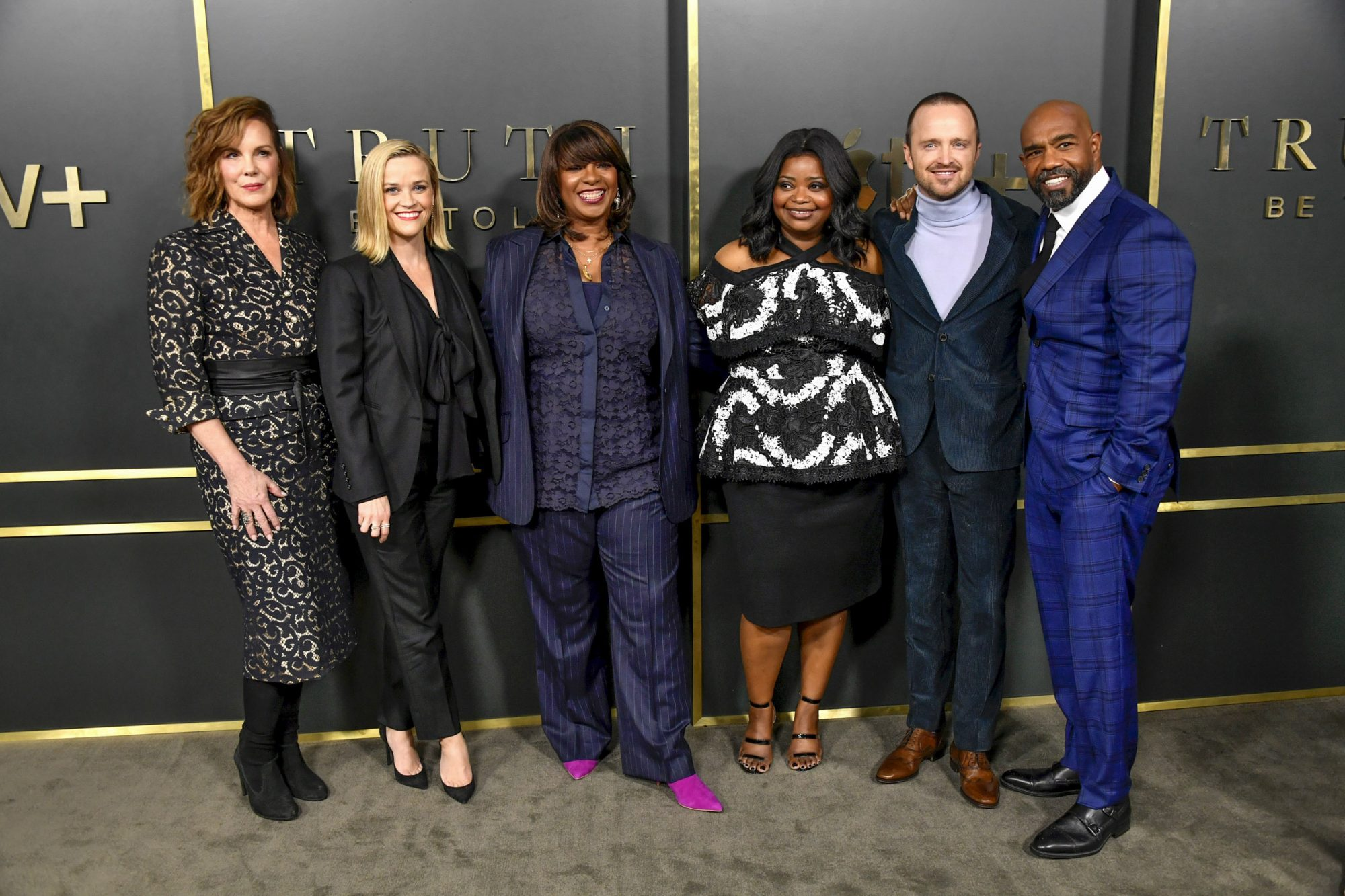 Elizabeth Perkins, Reese Witherspoon, Nichelle Tramble Spellman, Octavia Spencer, Aaron Paul, Michael Beach