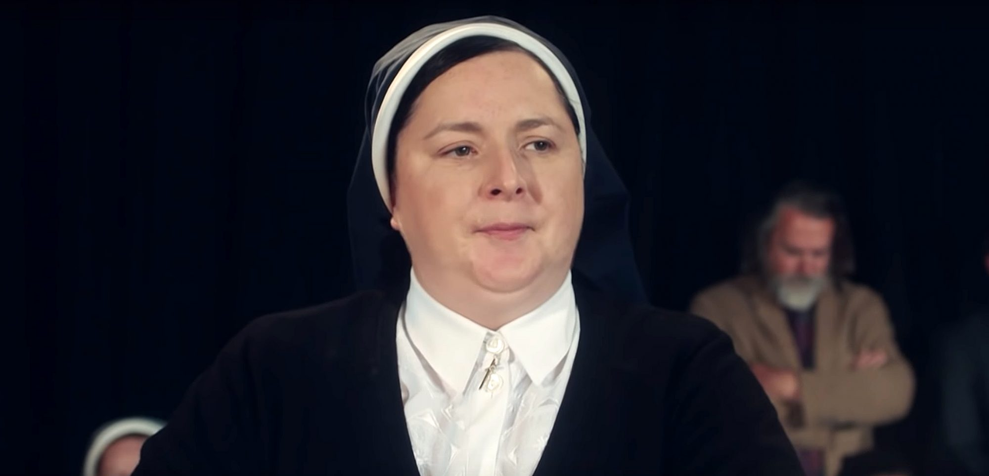 Sister Michael on Derry Girls