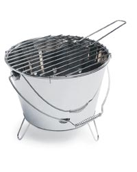 Sagaform Chromed Bucket Grill