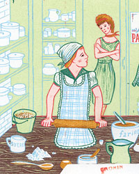 Mother-Daughter Kitchen Confidential