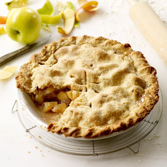 How to Make Pie Crust: Double-Crust Apple Pie