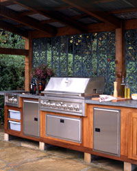 Wine Country Outdoor Kitchen