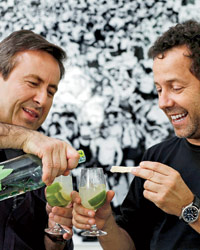 Brazilian Party with Daniel Boulud and Artist Vik Muniz