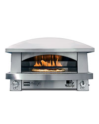 The Kalamazoo Artisan Fire Pizza Oven.