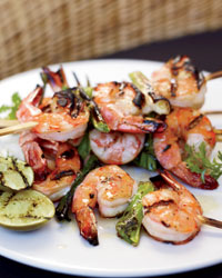 Superfast Grilled-Shrimp Ideas