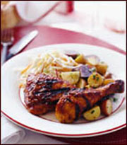 Spicy Southern Barbecue Chicken