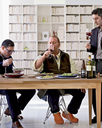 Mario Batali's Vegetable & Wine Challenge