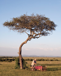 Kenya Food Safari: Chef Hubert Des Marais at Mara Safari Club.
