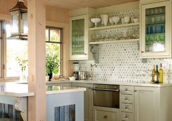 Sarah Richardson kitchen tip: Mosaic Tiles