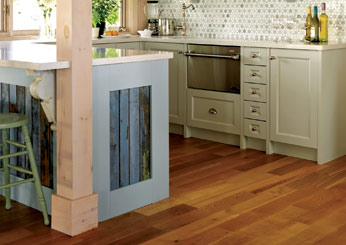 Sarah Richardson kitchen tip: salvaged wood