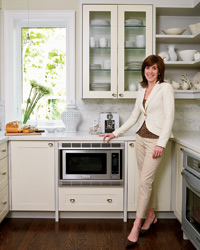 sarah richardson's ways to personalize a kitchen | food & wine