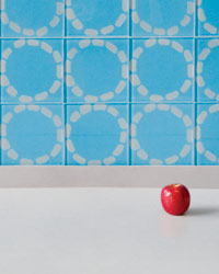 Holiday Kitchen Gifts: Modwalls' glass Circles tiles
