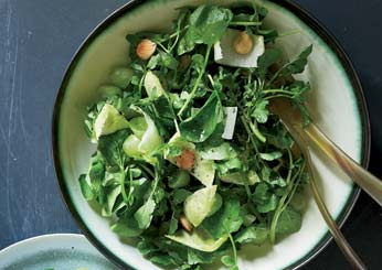 easy Watercress Salad with Verjus Vinaigrette
