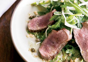 Lamb Salad with Fregola