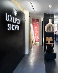London's East End: The Lollipop Shoppe