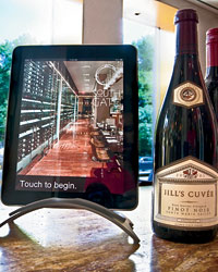 iPad Wine Lists