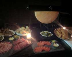 Raclette Night at Anfora.