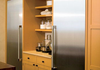 Food Blogger Kitchen Design Ideas: Thermador refrigerator