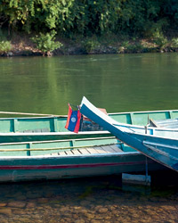 Laos Food Journey: Boats