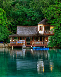 GoldenEye Resort in Jamaica.