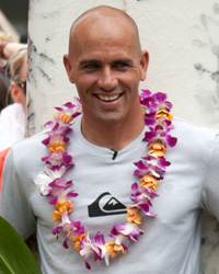 Kelly Slater, 10-time world surf champion