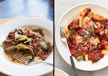 Beef Brasato with Pappardelle and Mint