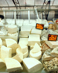 Jerusalem's Chamishi Be' Mai sources the cheeses for their sandwiches from Basher Fromagerie.
